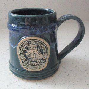 Ontario Renaissance Festival Mug Dark Green & Blue
